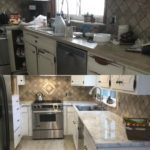 whiteKitch Soapstone before and after