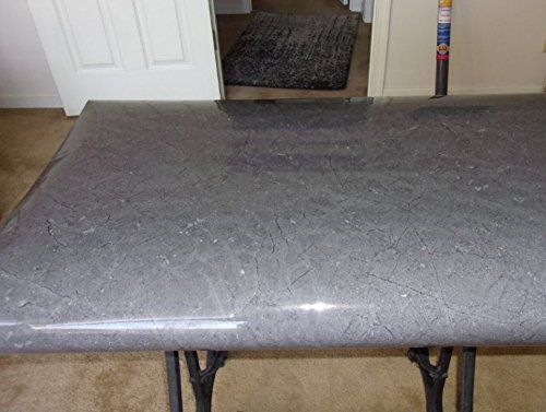 Instant Peel And Stick SOAPSTONE Look Counter Top Grey